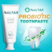 Dentifrice Avec Moi probiotiques, saveur de menthe aquatique, dentifrice antibactérien, brise fraîche durable, blanchiment efficace des dents