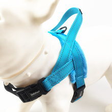 Dog harness Soft Padded Flannelette Reflective Adjustable Easy Walk pet dog Vest Harness No Pull Training Walking