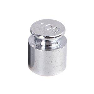 Image 5 - THGS waga 1g 2g 5g 10g 20g chromowanie kalibracja Gram skala zestaw do ważenia dla wagi cyfrowej bilans srebrzysty biały
