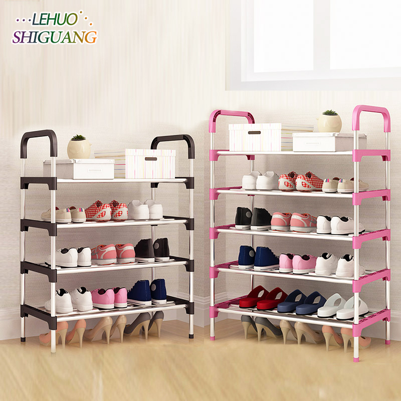 Shoe Rack Easy Assembled Plastic Multiple layers Shoes Shelf Storage Organizer Stand Shoe cabinet Fashion living room furnitureShoe Rack Easy Assembled Plastic Multiple layers Shoes Shelf Storage Organizer Stand Shoe cabinet Fashion living room furniture