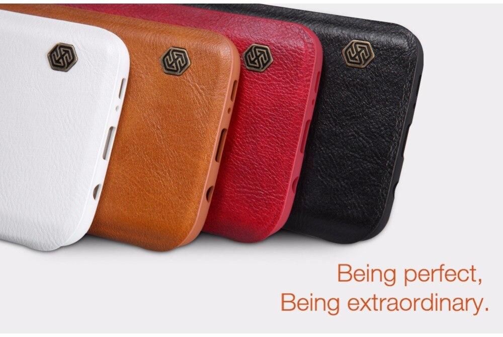 bilder für Nillkin Vintage Brieftasche QIN Serie luxus ledertasche brieftasche Tasche Schutz Flip-Cover für Samsung GALAXY S7 RAND