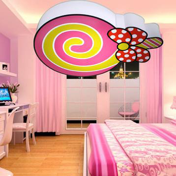 Modern Ceiling lollipop cartoon children\'s room bedroom lamp living room lights balcony lights aisle lights porch light fixtures-in Kitchen Sinks from ...