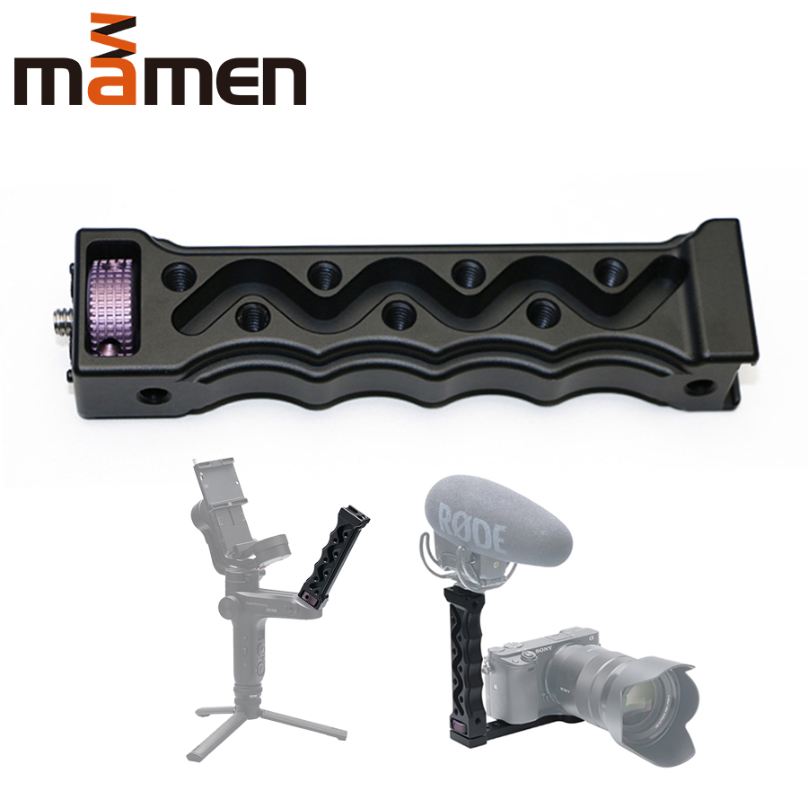 Aluminium alloy Portable WEEBILL LAB Handle with 1/4 3/8 screw interface for Camera Stabilizer  Compact and Labor-saving