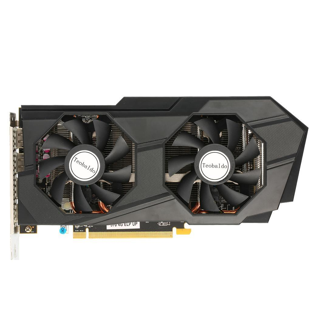 2019 NEW Original RX 570 4G 4GB RX570 256bit GDDR5 PCI Express 3.0 desktop gaming graphics cards video card 7000MHz image