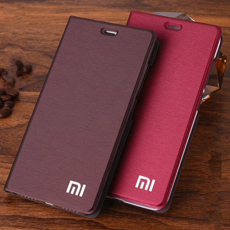 ¡Nueva llegar! Para Xiaomi Redmi 5 Plus funda de lujo estilo delgado Flip Funda de cuero para Xiaomi Redmi 5 Plus 5,99 pulgadas funda de teléfono