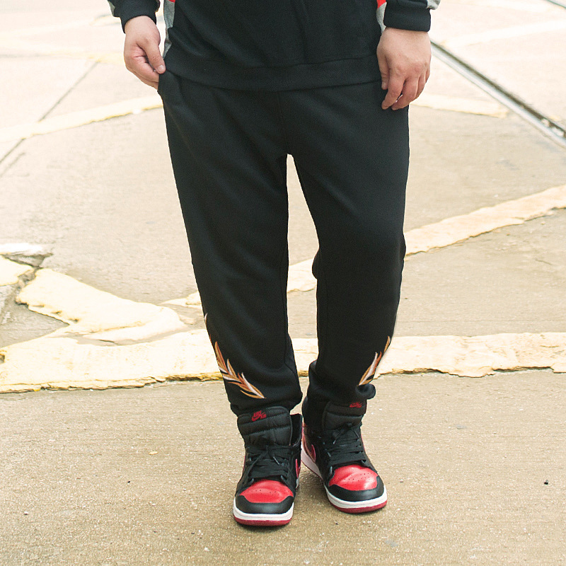 Trousers Male Wear Men's Embroidery Fertilizer Guy-Tuba Enlarge-Easy Time Will-Code New-Product