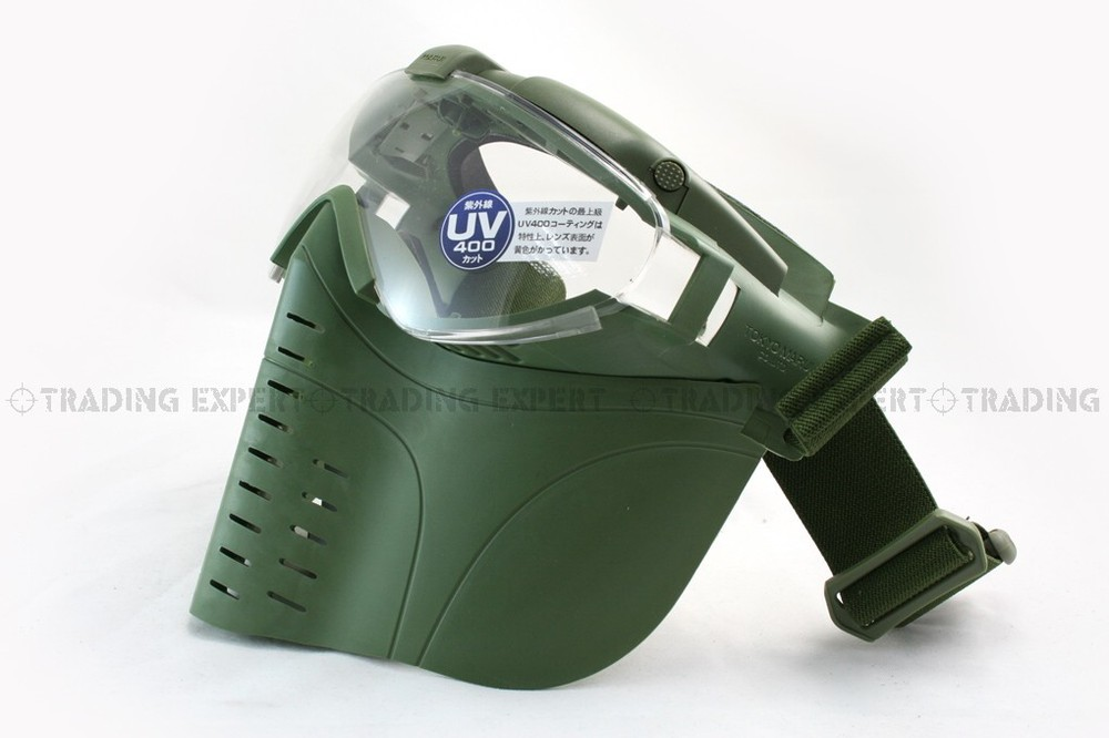 Electric Fan Face Mask (OD Green)