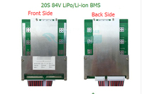 21S Li-ion/Lipo Batteries Protection Board BMS System 72V(88.2V) 80A Continuous Discharge For E-bike Use