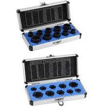 Juego de herramientas de extracción de tornillos dañados, conjunto de herramientas de roscado, conjunto de herramientas de mano, 2 tipos, 10 unidades