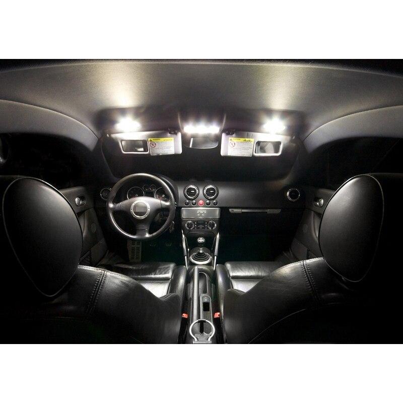 XIEYOU 8 հատ հատ LED Canbus- ի ներքին լույսերի - Ավտոմեքենայի լույսեր - Լուսանկար 3