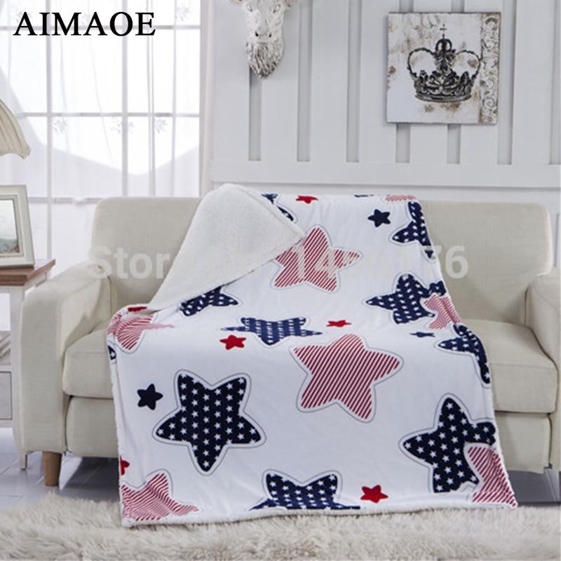 ФОТО Winter fashion lambs wool knee blanket blanket multi-function shawl blanket children blanket wholesale  100*140