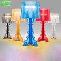 Quarto moderno Lâmpada de Cabeceira E27 Suporte Da Lâmpada 110-240 V Sala de Estar Candeeiro de Mesa Interior Azul/Amarelo/Vermelho/preto/Branco Frete Grátis
