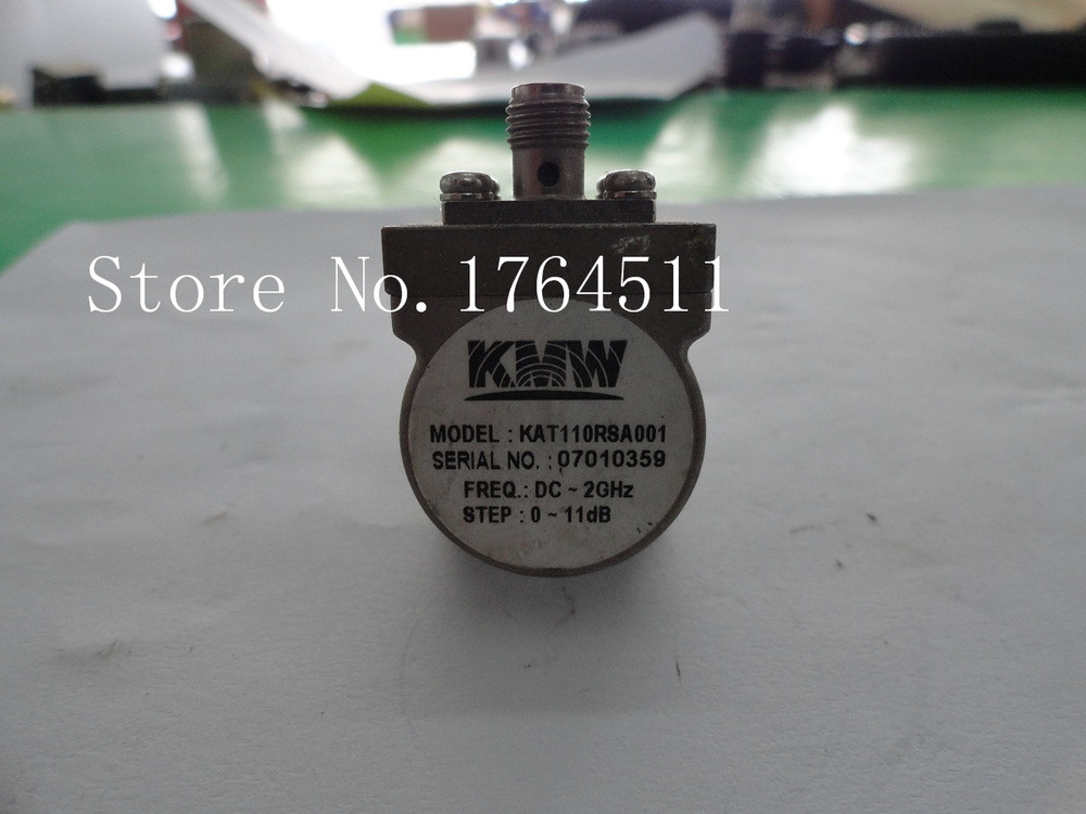 [BELLA] KMW KAT110RSA001 11dB DC-2GHz Adjustable Step Attenuator SMA