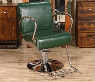 High-end Simple Barber Shop Chair Modern Style Hair Salon Dedicated Hair Lift Chair Tide Shop Net Red Hairdressing Chair Refreshment Salon Furniture