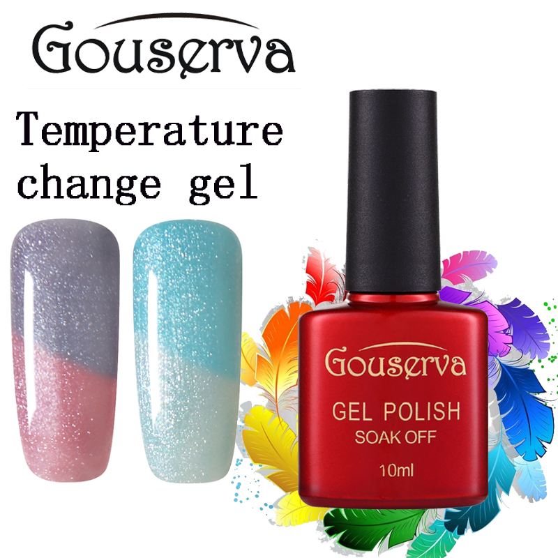 Gel Nail Polish Sale: Hot Sale New Brand Gouserva Gel Luck UV Gel Nail Polish