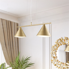 Post-modern Gold LED Chandelier Bedroom Living Room Restaurant Hotel Lobby Rooms Lighting LED Pendant Lamps Decorative Fixtures