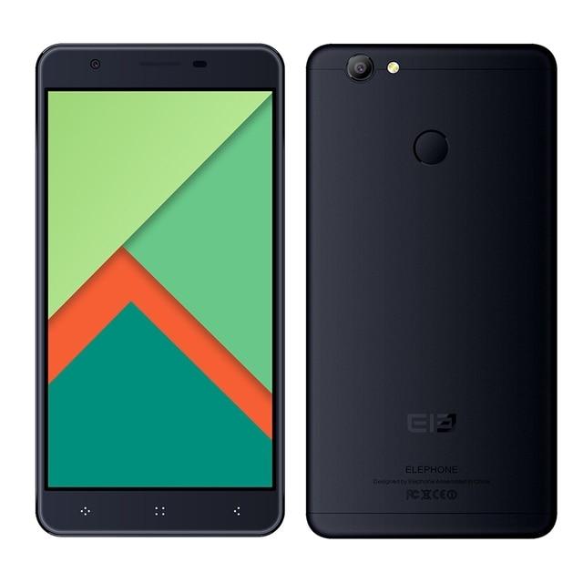 Original Elephone C1X 4G Phablet Smartphone Android 6.0 5.5 inch MTK6737 Quad Core 1.3GHz 2GB RAM + 16GB ROM AAC Box Speaker