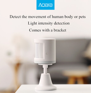 Image 2 - Aqara Menschlichen Körper Sensor Smart Körper Bewegung Motion Sensor Zigbee Verbindung halter stehen Mi hause App homekit über Android & IOS