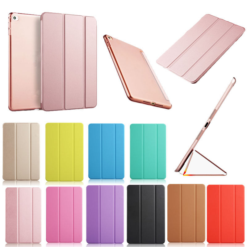 Ultra Slim Magnetic Leather Smart Cover Case For Apple iPad mini/2/3 tablet pc