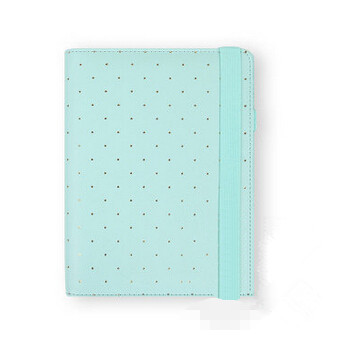 2016 New Dokibook Notebook Mint A5 A6 Spiral Time Planner Cute Creative Zipper Case Book Diary Agenda Organizer