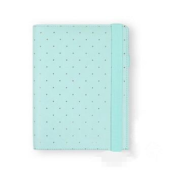 2016 New Dokibook Notebook Mint A5 A6 Spiral Time Planner Cute Creative Zipper Case Book Diary Agenda Organizer