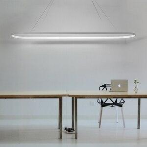 Image 2 - Длина 700/900/1200 мм современные светодиодные подвесные светильники для столовой кухни высокая яркость подвесной светильник лампа