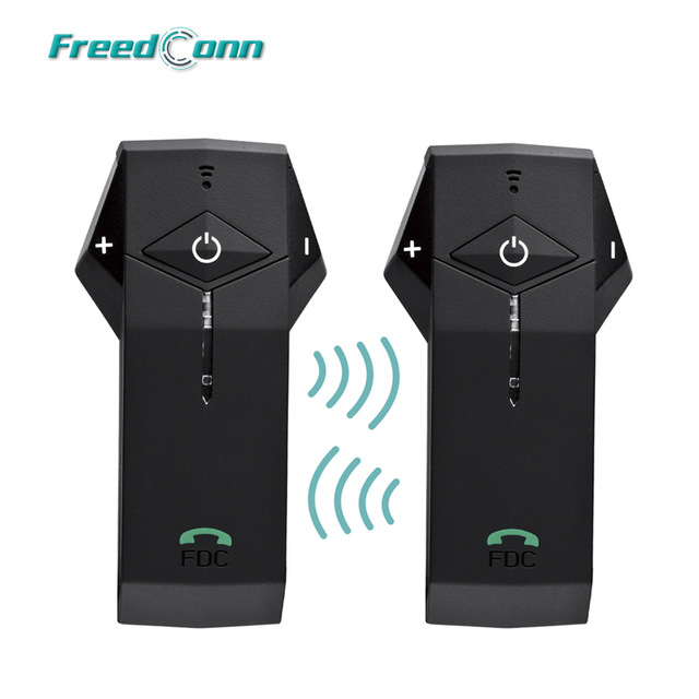 2PCS/Lot FreedConn Motorbike Helmet Interphone 1000M BT Motorcycle Intercom Headset NFC Technology FM Radio Bluetooth Interphone 2pcs mini walkie talkie uhf interphone transceiver for kids use two way portable radio handled intercom free shipping