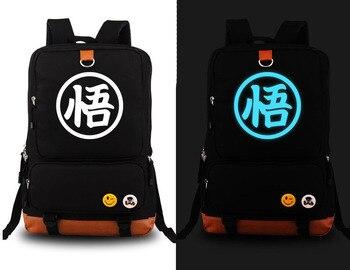Hot Anime Kakarotto Son Goku Cosplay Backpack Canvas Master Roshi Kame Sennin Student Schoolbag Unisex Travel Bags 5 style - sale item Backpacks