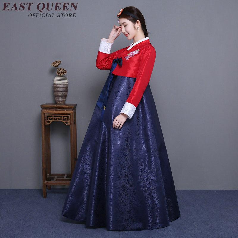 Korean traditional clothing women korean hanbok costume new arrivals 2018 female hanbok korean dress NN0293 C