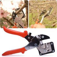 FGHGF Fruit Tree Pro Engraft Carbon Steel Pruning Scissor Grafting Cutting Garden Tools