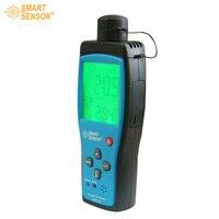 С коробкой Smart Sensor Газоанализатор Кислорода O2 концентрации диапазон измерения 0 30% детектор тестер ar8100 Бесплатная доставка