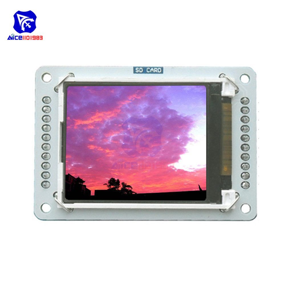1.8 Inch 128x160 TFT LCD Shield Module SPI Serial Interface With Memory Card Slot For Arduino Esplora