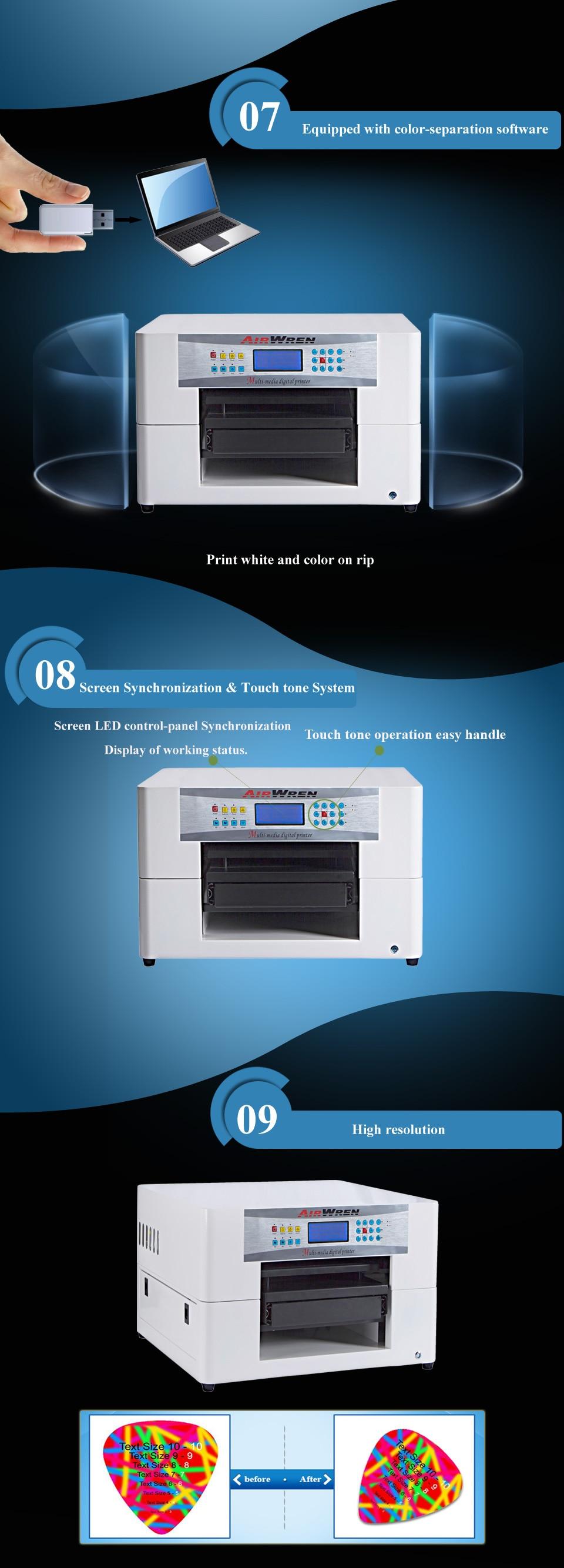 US $1990 0 |desktop direct Digital garment fabric price t shirt printer T  shirt Printing machine-in Printers from Computer & Office on Aliexpress com