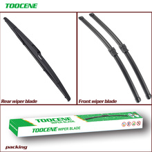 Front and Rear Wiper Blades For Mazda 3 2003 2004 2005 2006 2007 2008  Windshield Windscreen wiper  Car Accessories 21