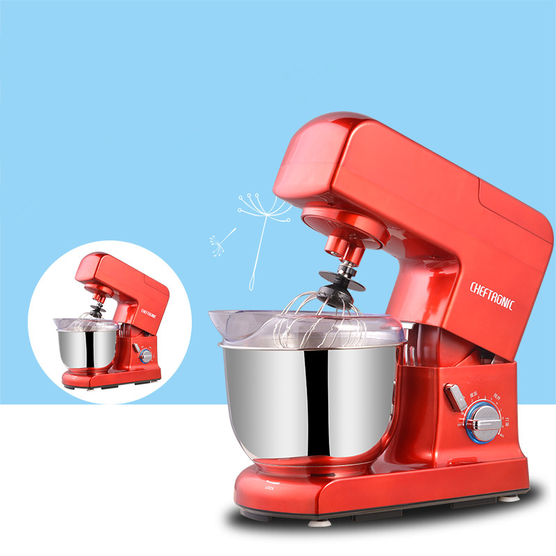 220V 4.5L Household Electric Dough Mixer Multifunctional Juicer Dough Milkshake Mixer Egg Beater For Bread Salad Making 2 pcs lot household juicer mixer accessories mixer rotation turn left
