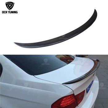 สำหรับ BMW E90 สปอยเลอร์ E90 & E90 M3 คาร์บอนไฟเบอร์สปอยเลอร์ด้านหลัง 318i 320i 325i 330i 2005-2011 e90 ซีดานด้านหลัง CF