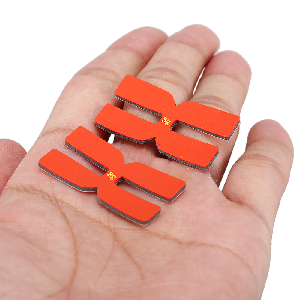 6Pcs Tennis Badminton Racket Weight Balance Strips Silicone Tennis Racquet Tapes For Badminton Sports Accessories