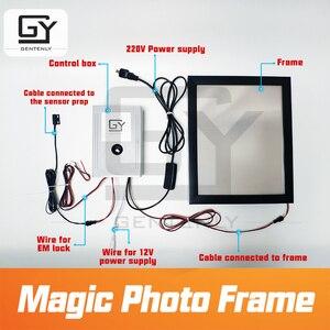 Image 3 - Sihirli fotoğraf çerçevesi kaçış odası oyun prop tetik sensörleri almak için görünmez clues güncelleme sürümü sihirli etiket pervane