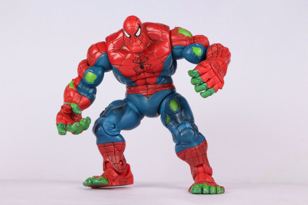 Toy Biz Oringinal Marvel Legends Spiderman Classics Spider-Hulk Action Figure Loose Rare neca marvel legends venom pvc action figure collectible model toy 7 18cm kt3137