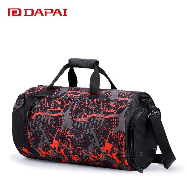 Dapai Camouflage Travel Bag Handbag Vintage School Duffle Luggage Dorothy Messenger Hand Tourism Package Satchel