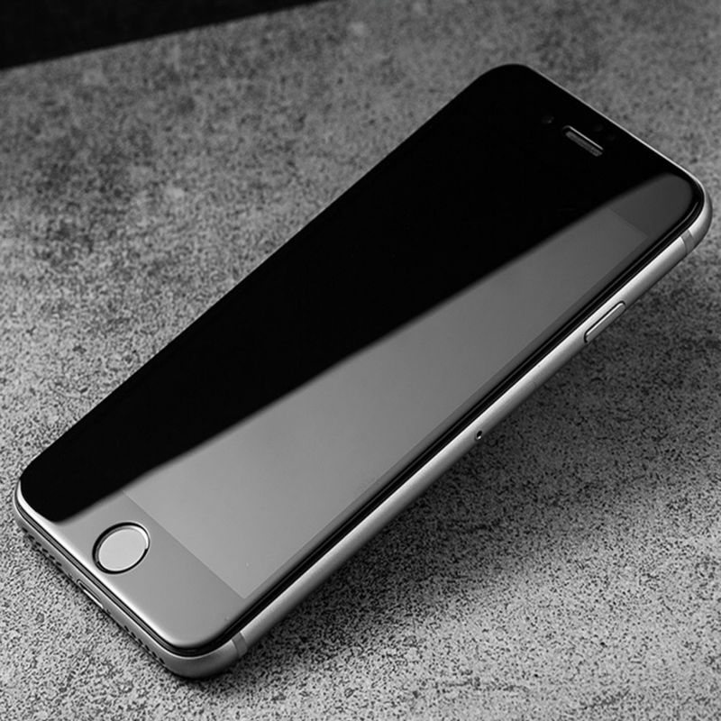 imágenes para Camdems 100 unids/lote 4d curvo cubierta completa de vidrio templado para el iphone 7 7 plus 6 6 s 6 más 6 s plus protector de pantalla de cristal Protector