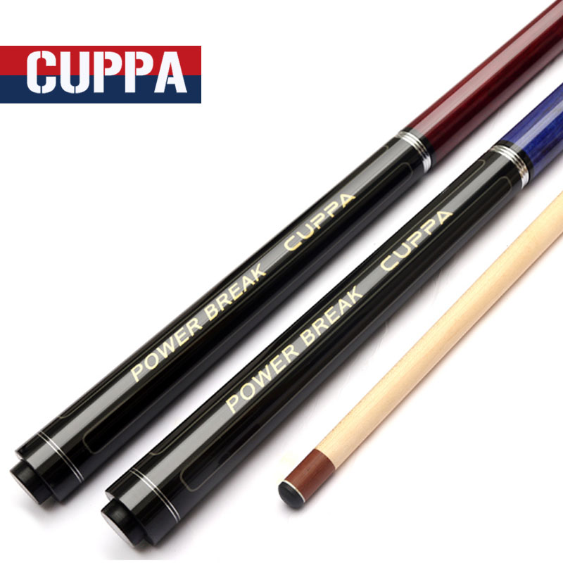 2017 High Quality Cuppa 3 Pieces Jump Break Pool Cue Punch & Jump Cues X3 Model 138cm Length China  new cuppa pool jump cue 13 5mm black bakelite tips punch