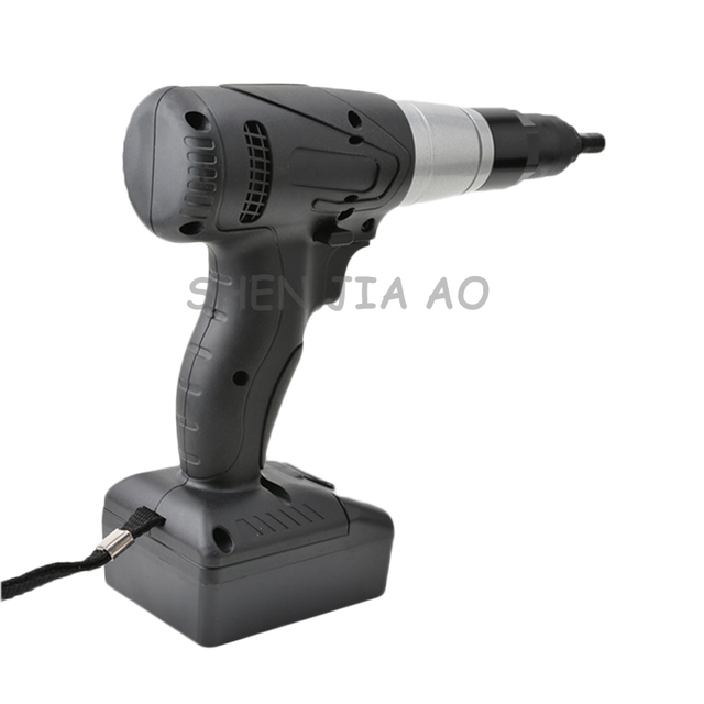 14.4V 1PC Rechargeable riveted nut gun BD-3401 industrial-grade quality electric pull gun easy riveting tool M6/M8/M10 1