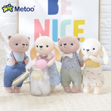Kawaii Stuffed Plush Animals Cartoon Kids Toys for Girls Children Baby Birthday Christmas Gift Accompany Metoo Doll