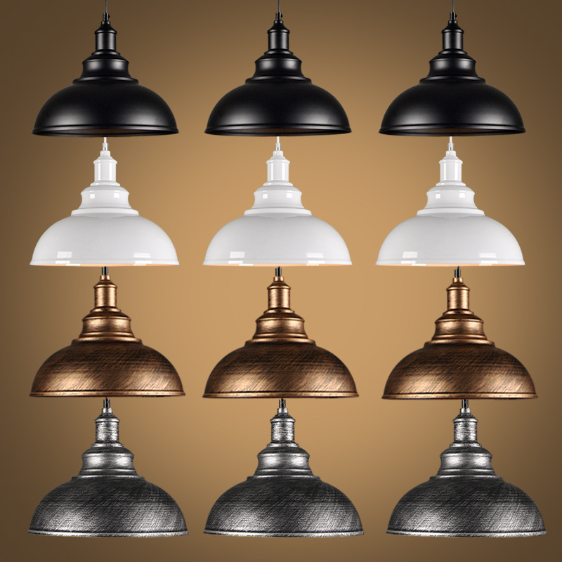 Loft Industrial Pendant Lights Vintage RH Edison Hanging Lamp E27 110 220V Pendant Lamps For Home Decor Restaurant Luminarias modern edison personality industrial lighting counter lamps cage vintage pendant lights pendant lamp edison bulbs ac 110 220v
