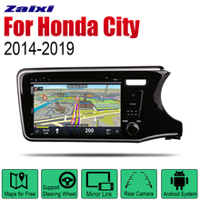 Auto DVD Player GPS Navigation For Honda City 2014~2019 Car Android Multimedia System Screen Radio Stereo RHD auto player gps navigation for honda city 2014 2019 car android multimedia system screen radio stereo