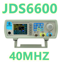 By Dhl Fedex 10pcs Lot JDS6600 Control Dual Channel DDS Function Generator Arbitrary Waveform Frequency Signal