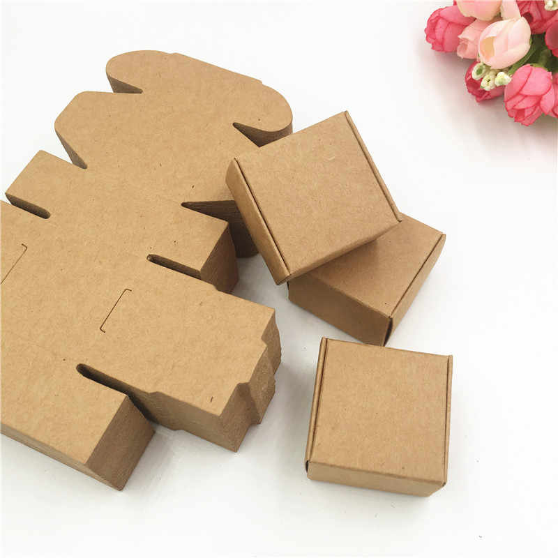 Wholesale Kraft Paper Card Aircraft Gift Box Wedding Party Christmas Handmade Cookie/Candy/Jewelry/Handmade Soap Packing Box