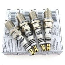 цена на 4pcs/Lot  BKR6EIX-11 4272 BKR6EIX 11 Car Iridium Power Spark Plug for Toyota Lexus Suzuki Subaru BKR6EIX11