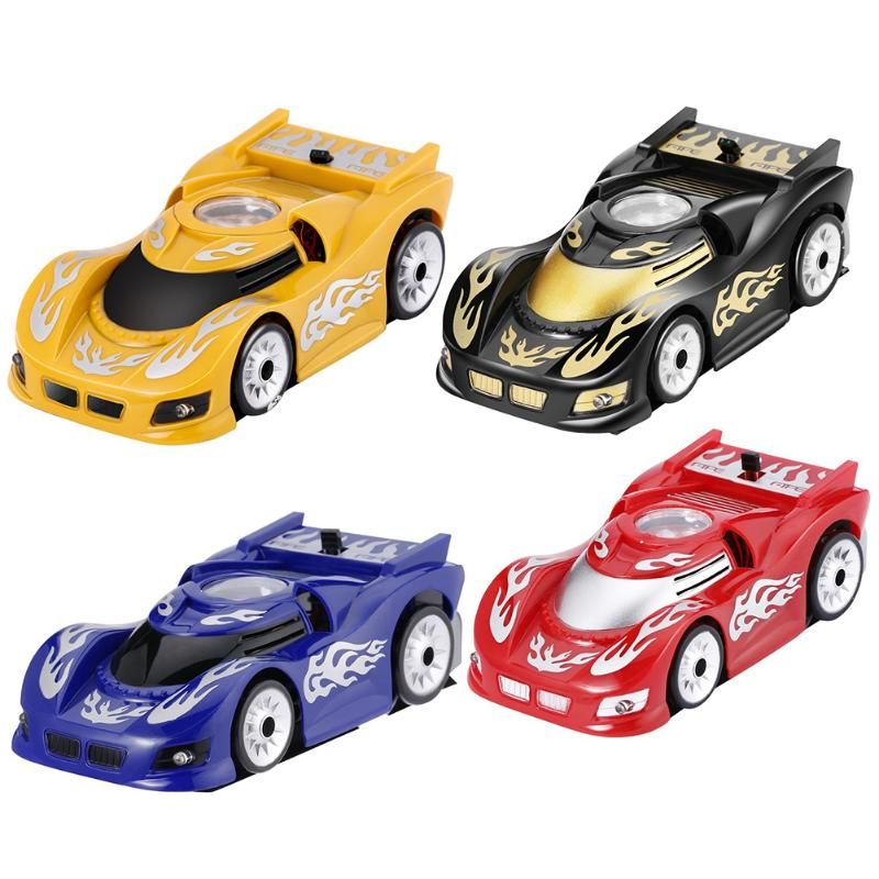 Plastic Mini RC Wall Climbing Car Infrared Remote Control Car Electric Toys Vehicle Remote Electronic Kid's Toys for Kids Gift